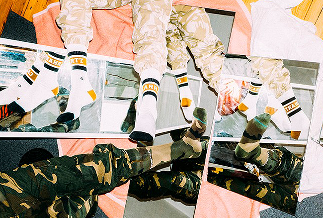 Carhartt WIP & Stance Team up on a Limited Edition Range for SS19