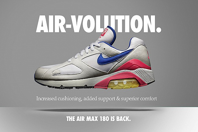 Nike Air Max 180 is back