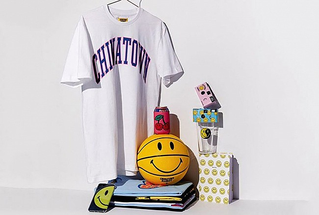 Chinatown Market X Smiley summer 2018 collection
